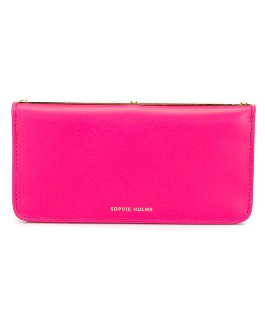 Sophie Hulme | Женское Розовый -Tone Wallet