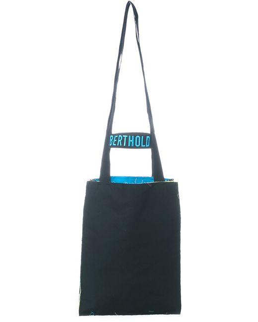 BERTHOLD | Мужское Чёрный Tote Bag