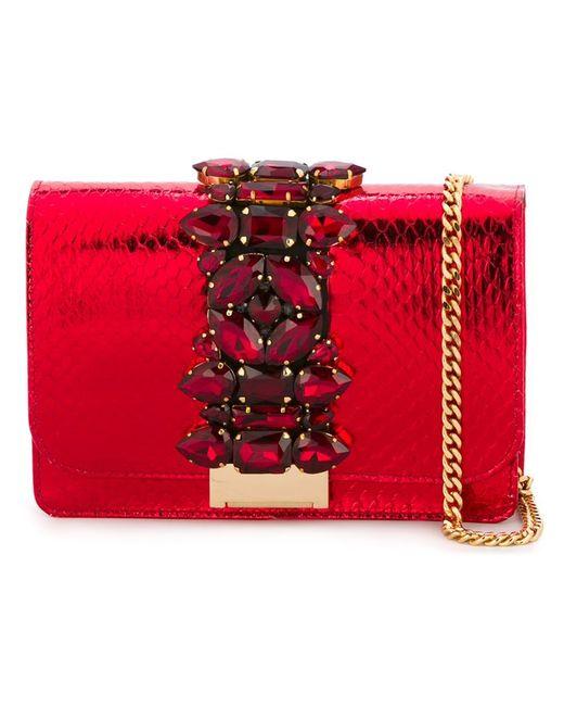 Gedebe | Женское Красный Cliky Cross Body Bag