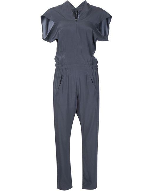 Zero + Maria Cornejo   Женское Серый Shortsleeved Jumpsuit
