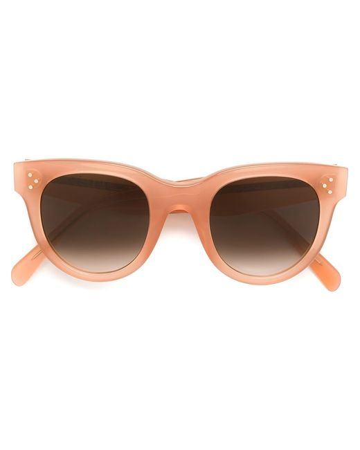 Céline | Женское Розовый Gradient Oversized Sunglasses