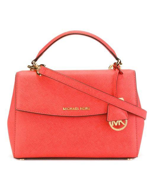 Michael Michael Kors   Женское Красный Ava Small Tote Bag