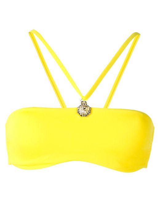 Versace   Женский Жёлтый Топ Бикини
