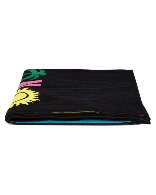 Moschino Swim | Женское Чёрный Logo Beach Towel