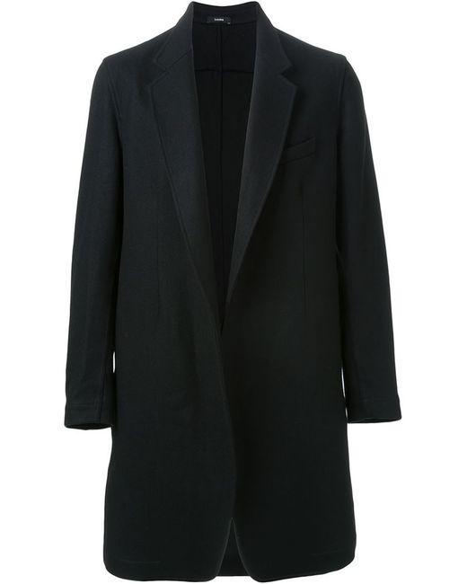 Bassike   Мужское Чёрное Классическое Пальто
