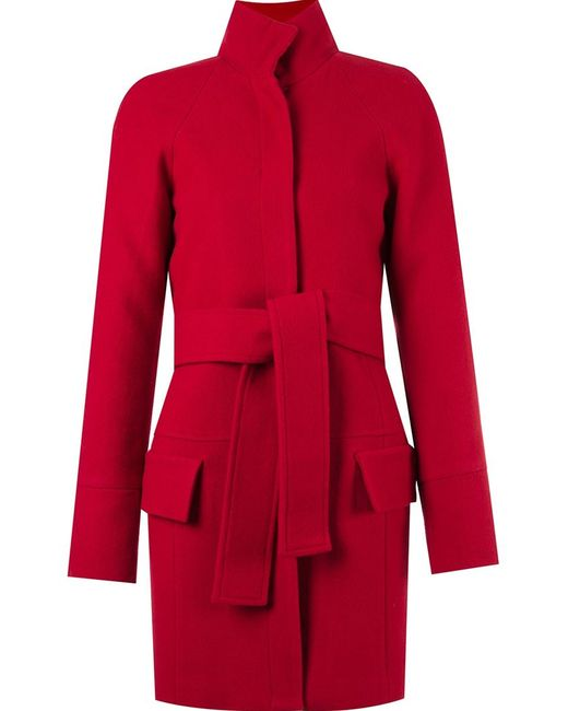 GIULIANA ROMANNO | Женское Красный Panel Detail Trench Coat