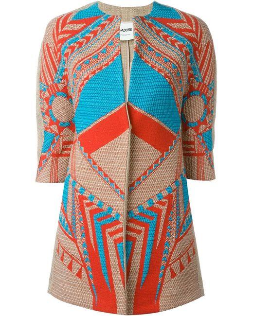 AVA ADORE | Женское Многоцветный Woven Overcoat