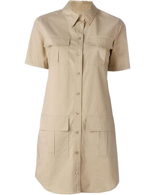 Equipment | Женское Nude & Neutrals Patch Pocket Shirt Dress