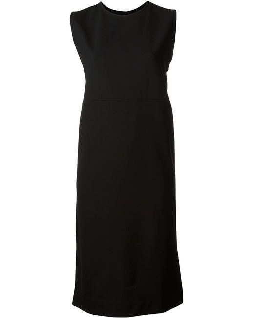 Haider Ackermann | Женское Чёрное Платье Без Рукавов