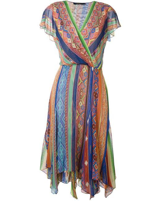 Polo Ralph Lauren | Женское Красный Ethnic Print Dress