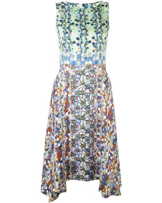 Peter Pilotto | Женское Многоцветное Платье С Геометрическим Принтом