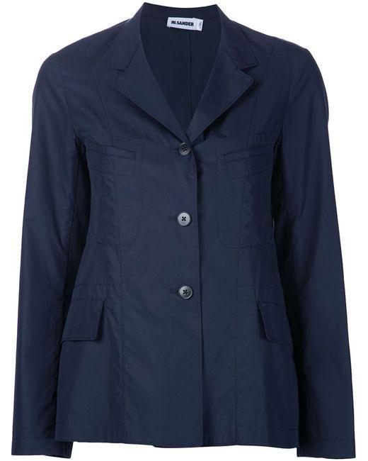 Jil Sander | Женское Синий Three Button Jacket