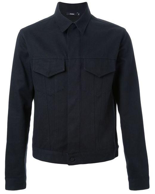 Bassike | Мужская Чёрная Джинсовая Куртка