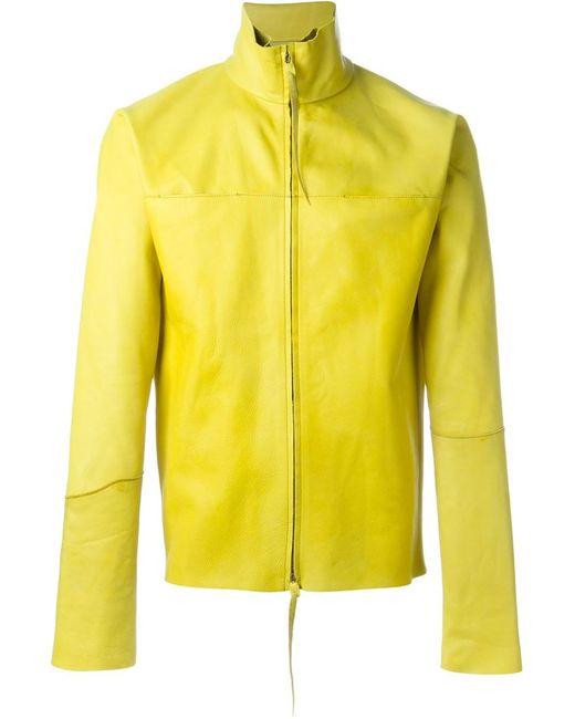 MA+ | Мужское Желтый Classic Jacket