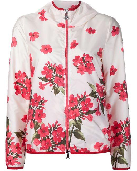 Moncler | Женское Белый Vive Print Jacket