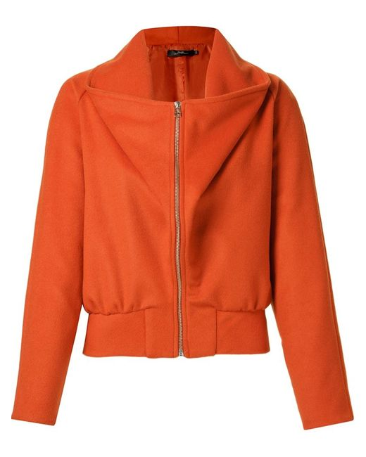ANDREA MARQUES | Женское Желтый Wide Collar Jacket