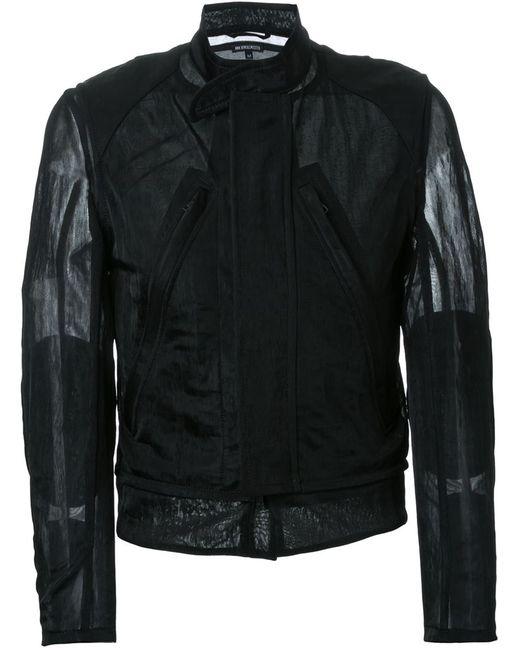 Ann Demeulemeester | Мужская Чёрная Легкая Куртка