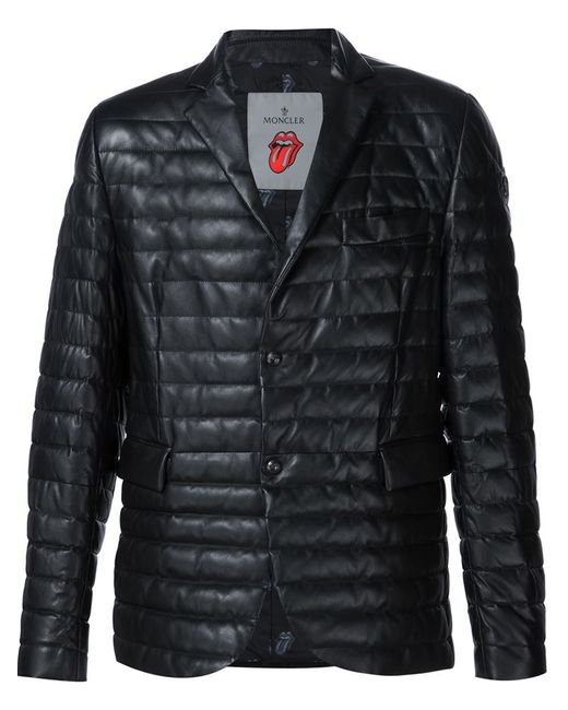 Moncler | Мужское Чёрный Riwal Jacket By X Rolling Stones