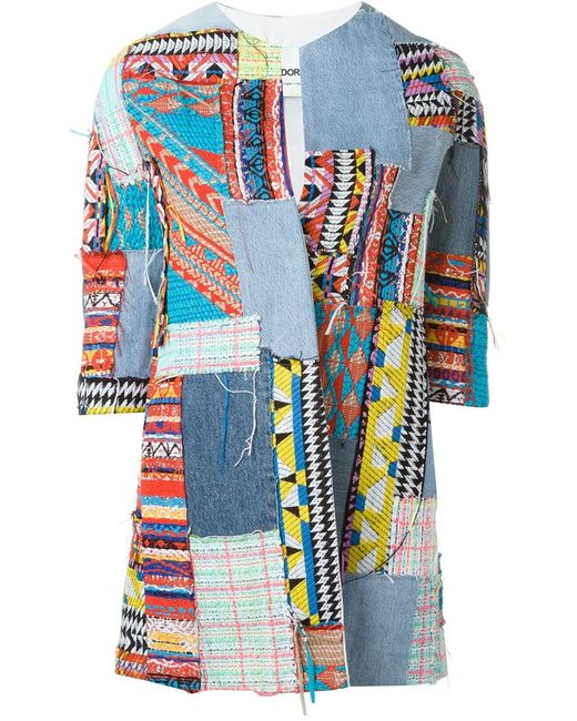 AVA ADORE | Женское Синий Patchwork Jacket