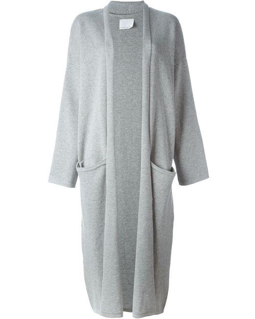 CHARLIE MAY | Женское Серый Oversized Shawl Cardigan
