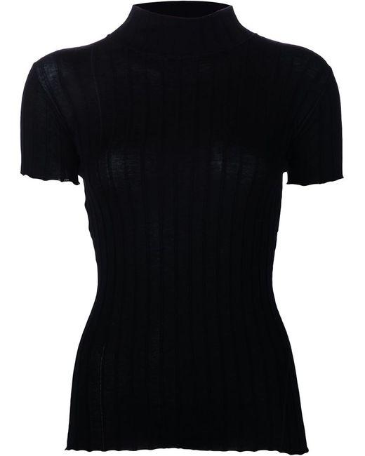 Rag & Bone   Женское Чёрный Rib Knit T-Shirt