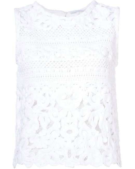 Ermanno Scervino | Женское Белый Knitted Tank Top