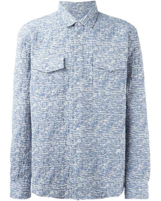 Soulland | Мужская Белая Рубашка Tom