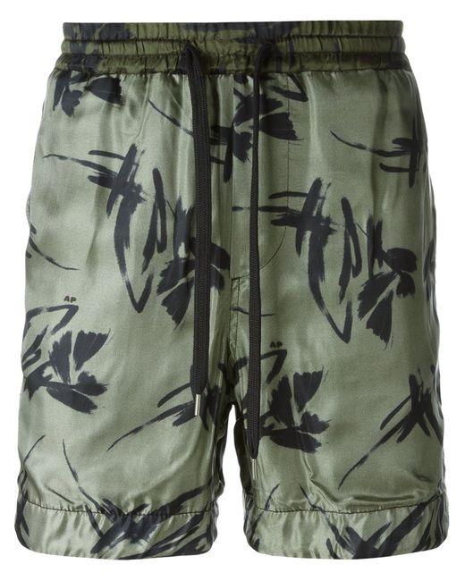 Andrea Pompilio | Мужское Зелёный Drawstring Shorts