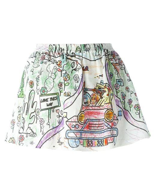 Mira Mikati | Женская Многоцветная Юбка Road Trip