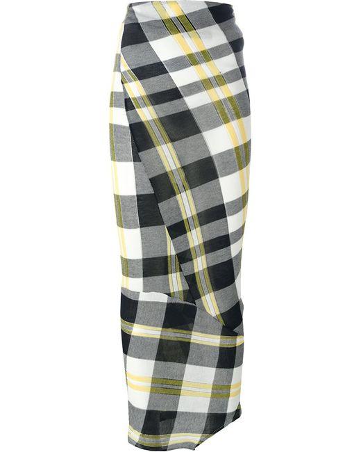 Stella Mccartney | Женская Многоцветная Юбка Solid Check