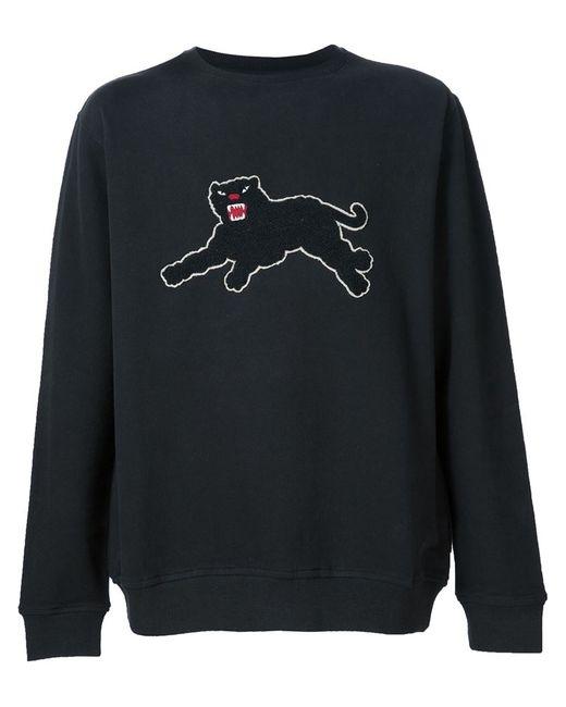 Maharishi | Мужское Чёрный Panther Patch Sweatshirt