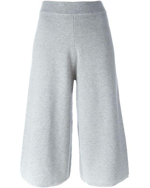 CHARLIE MAY | Женское Серый Knit Culottes