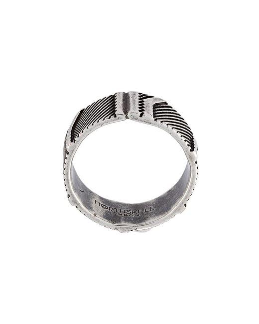 Northskull | Мужское Серебристый Mantz Ring