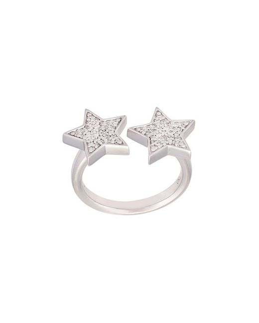 Alinka   Женское Серебристый Stasia Diamond Double Star Ring