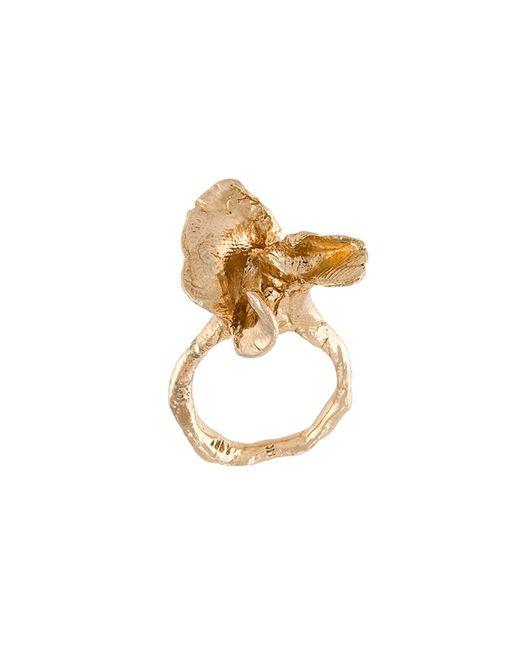 ALICE WAESE | Женское Серебристый Flower Ring