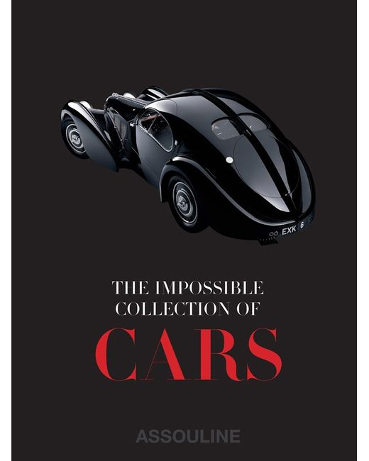 Assouline | Чёрная Книга The Impossible Collection Of Cars