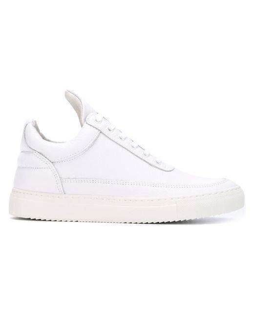 Filling Pieces   Женское Белый Triangular Tongue Classic Sneakers