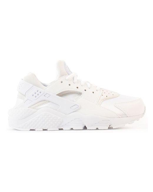 Nike   Женское Белый Huarache Run Sneakers