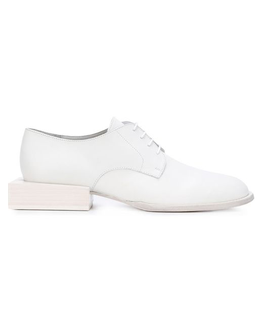 JACQUEMUS   Женское Белый Clown Derby Shoes