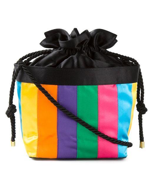Fendi | Женское Многоцветный Vintage Striped Cross Body Bag