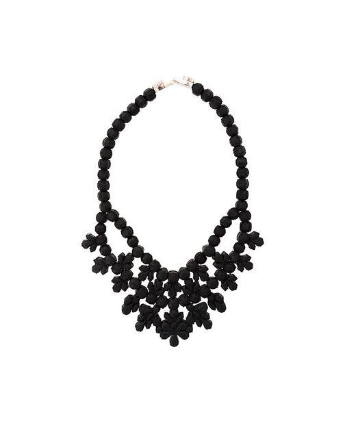 EK Thongprasert | Женское Чёрный Beaded Necklace