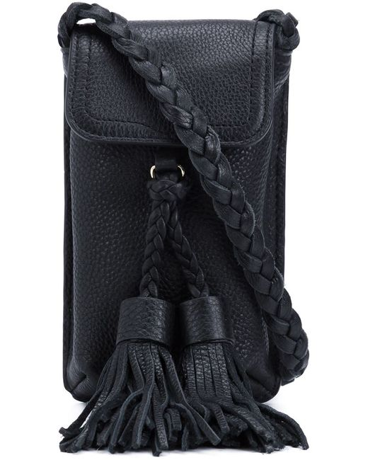 Rebecca Minkoff | Женское Чёрный Small Braided Cross Body Bag
