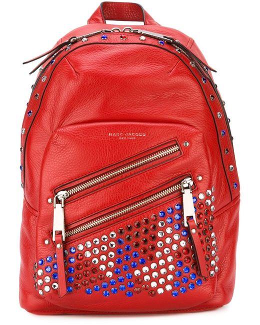 Marc Jacobs | Женский Красный Рюкзак P.Y.T