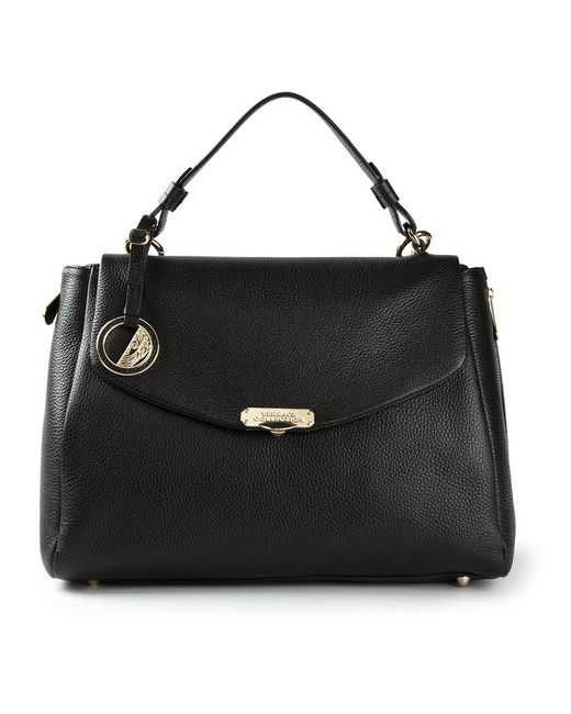 Versace Collection   Женская Чёрная Сумка-Сэтчел
