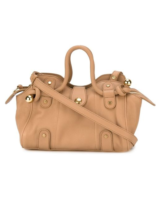 See By Chloe   Женское Nude & Neutrals Dixie Tote