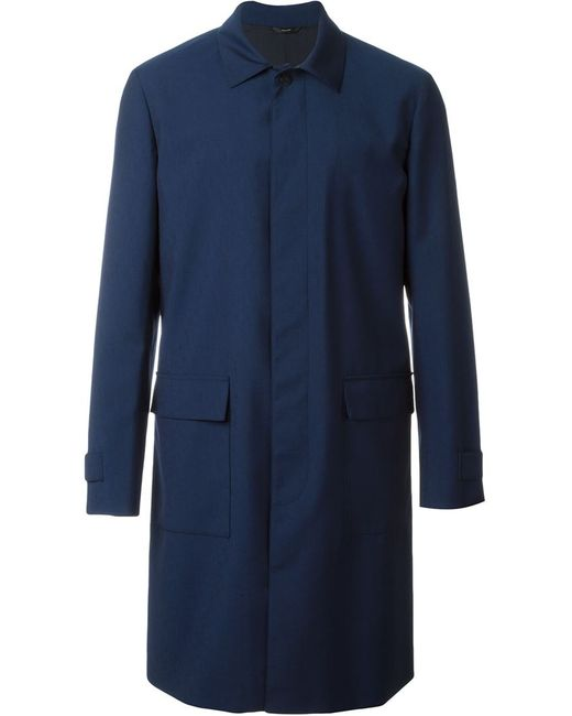 Fendi | Мужское Синий Classic Raincoat