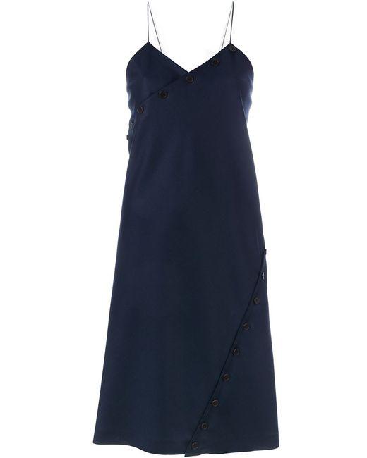 Courreges | Женское Синее Платье R07