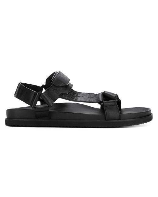 Joseph | Мужское Чёрный Velcro Strap Sandals