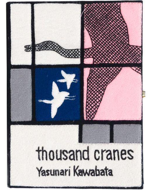 Olympia Le-Tan | Женский Многоцветный Клатч-Книга Thousand Cranes