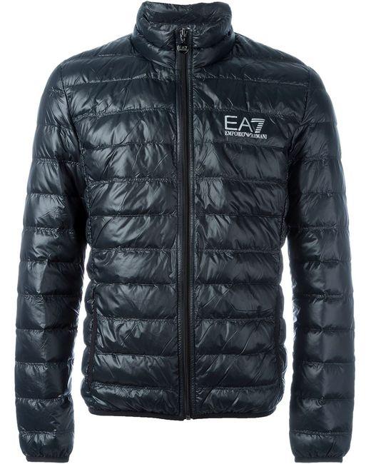 EA7 | Мужское Чёрный Feather Down Padded Jacket